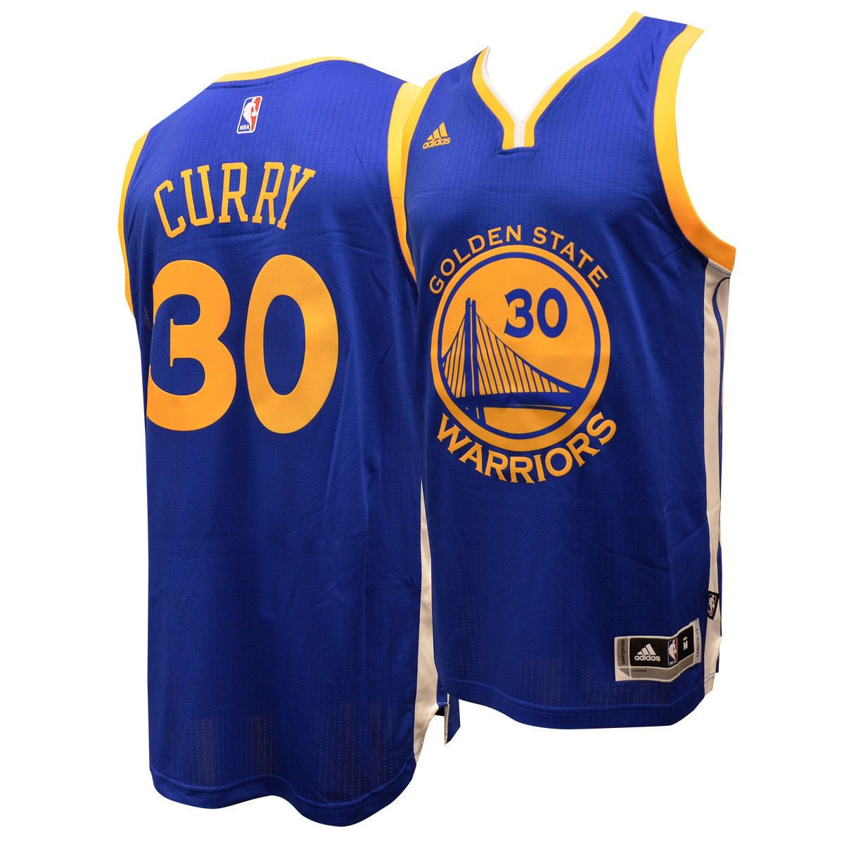 finest selection 1b884 80b6f Stephen Curry Golden State Warriors Adidas Swingman Blue ...
