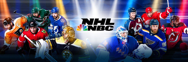 NHL on NBC in 2020 Usa hockey, Nbc, Sports