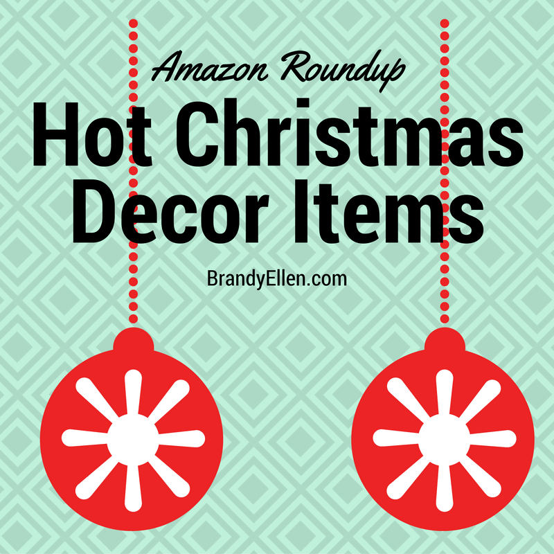A List Of The 15 Hottest Christmas Decor Items On Amazon To Assist You In Shopping