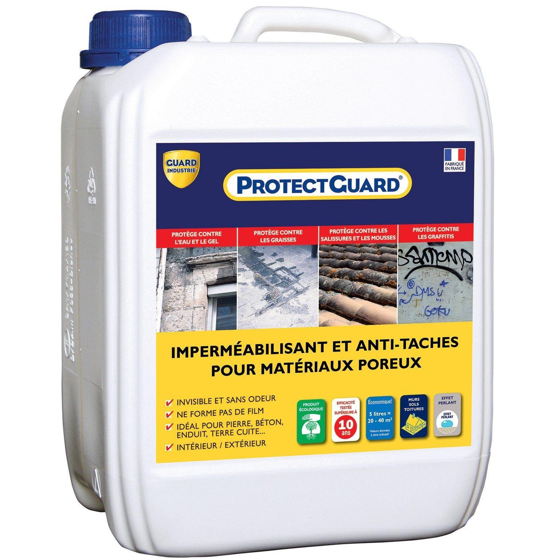 Imperméabilisant façade et sol extérieur ProtectGuard 5L, incolore GUARD INDUSTRIE | Nettoyer ...