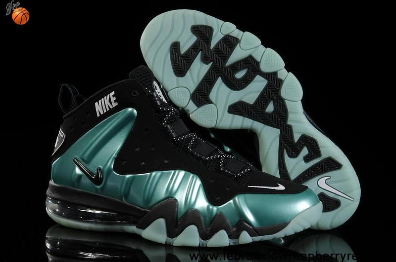 Cheap Nike Barkley Posite Max Turquoise Black Fashion Shoes Store