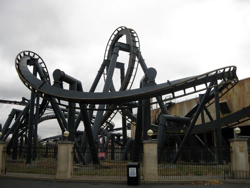 Batman The Ride At Six Flags St Louis In Eureka Missouri Roller Coaster Abandoned Amusement Parks Water Park