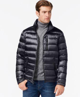 CALVIN KLEIN Calvin Klein Men'S Packable Down Jacket. #calvinklein #cloth # coats