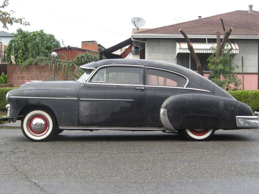 1950 Chevy Fleetline 2dr Deluxe How Thing S Change