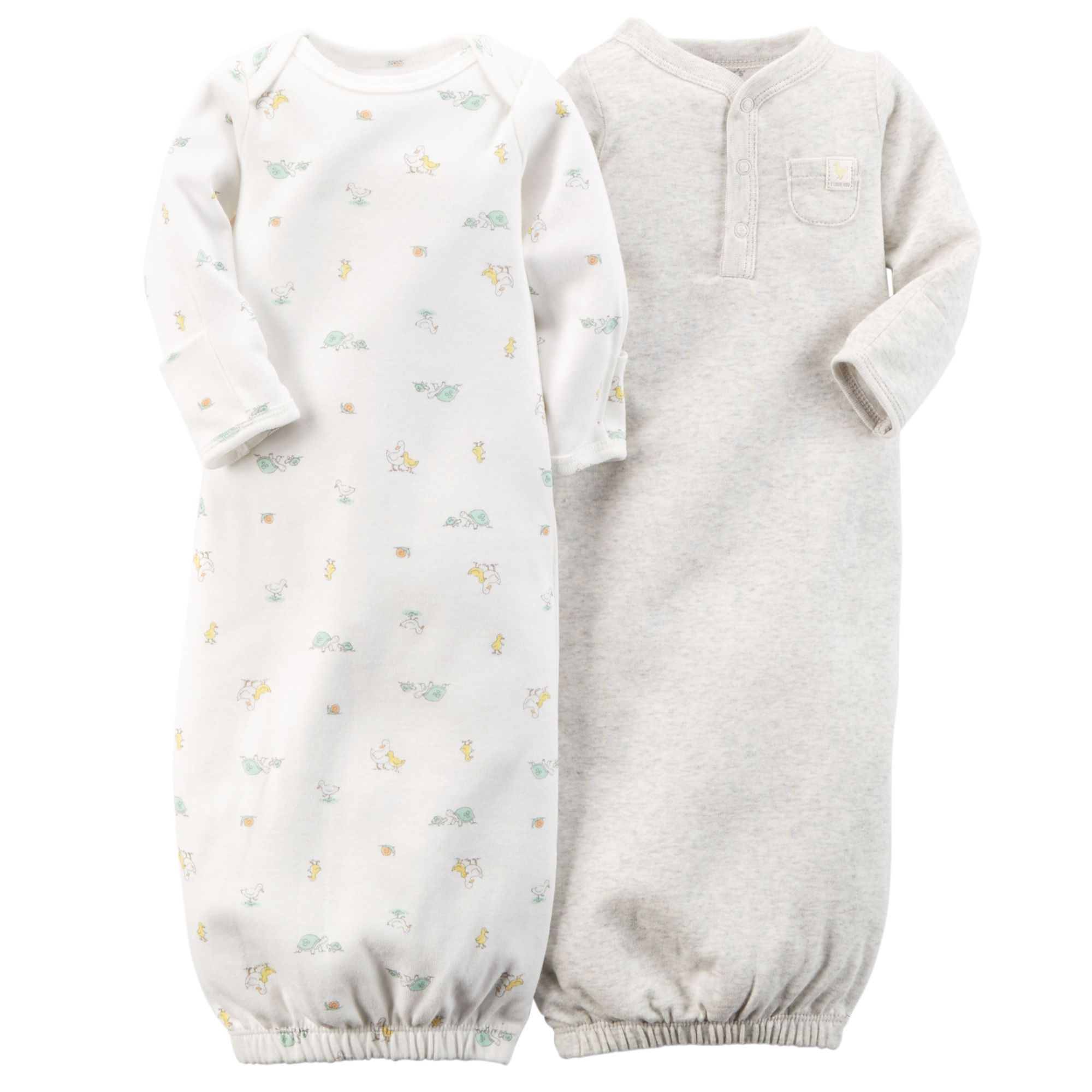2-Pack Sleeper Gowns $12.00 | Baby & Toddler Gifts | Pinterest ...