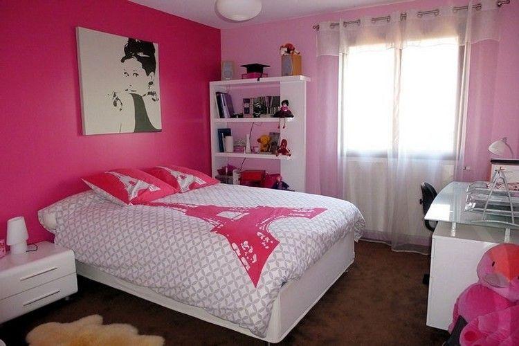 déco chambre fille ado en rose idées inspirantes