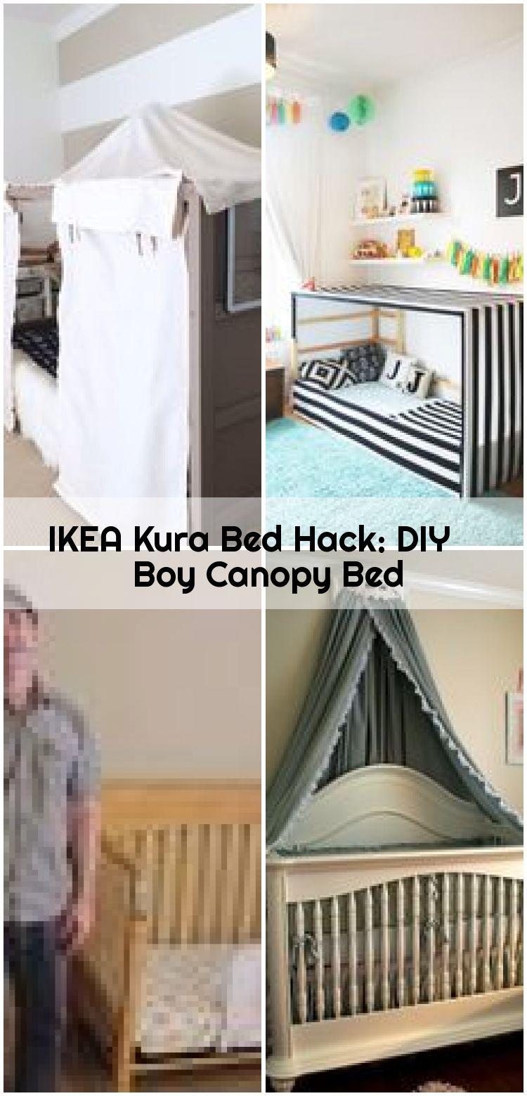 Ikea Kura Bed Hack Diy Boy Himmelbett Mit Bildern Kura Bett