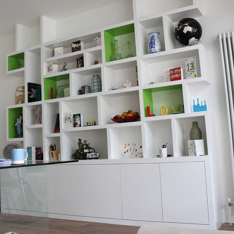 Modern Bookcases Alcove Cabinets Fitted Bookcases Built In Book