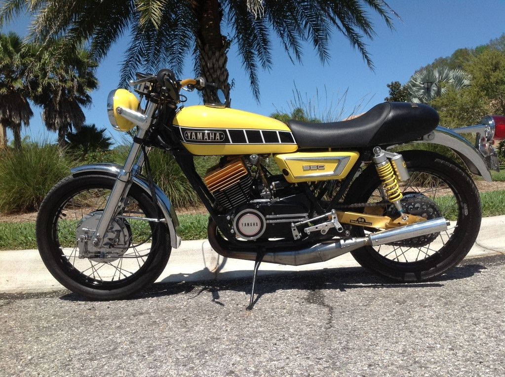 Pin by Mike Rassel on Air Cooled 2 Stroke Bikes Yamaha