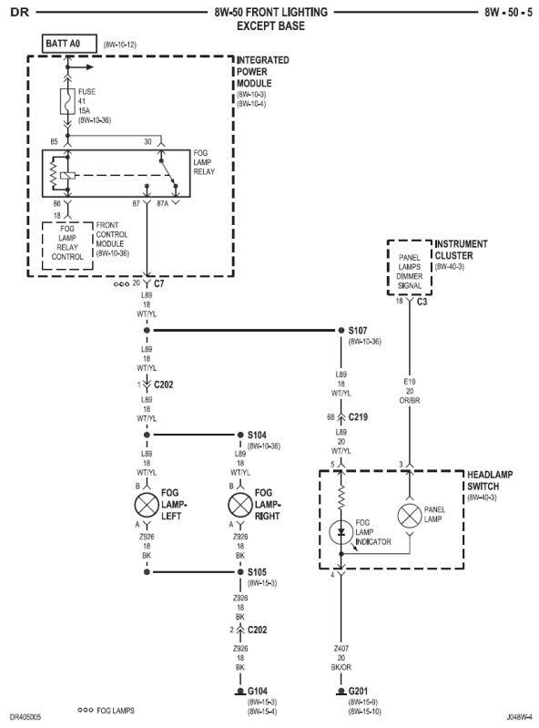 2008 Dodge Cummin Fuse Box Diagram