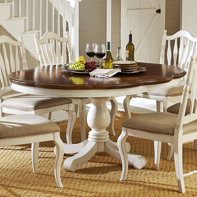 Haven High Low Dining Table Buttercream White Dining Room Table Decor Dining Room Small Dining Table Makeover