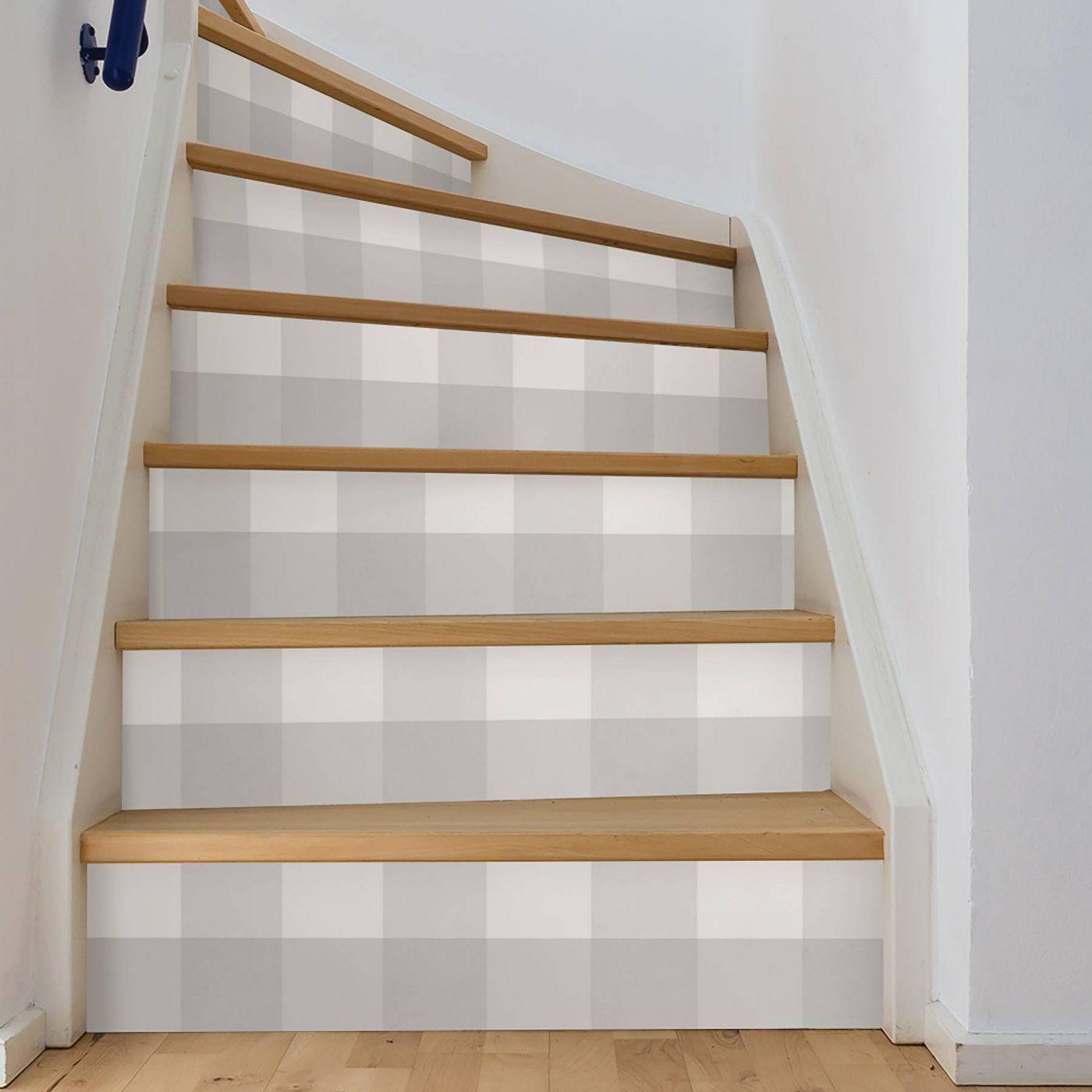 Brewster farmhouse plaid peel stick wallpaper peel and