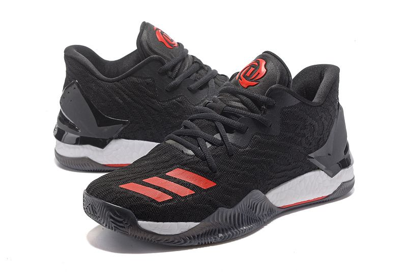 "a7c45771d7962 Adidas D Rose 7 Low""Black Red""Sneakers for Sale 01 01"