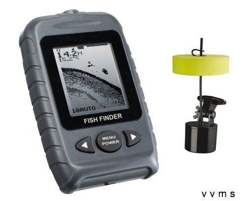 Signstek Ff 009 Portable Fish Finder Fishfinder With Round Sonar