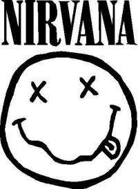 Nirvana Logo Vector Eps Free Download Band Logo Design Band Logos Nirvana Logo