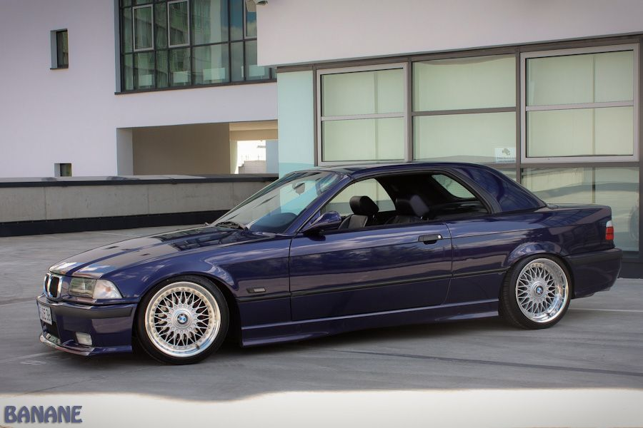montreal blue bmw e36 cabrio on oem bmw styling 5 bbs rc. Black Bedroom Furniture Sets. Home Design Ideas