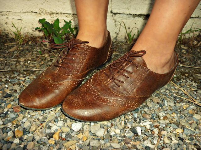 #brown #oxfords