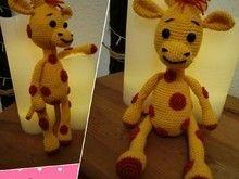 süße Giraffe