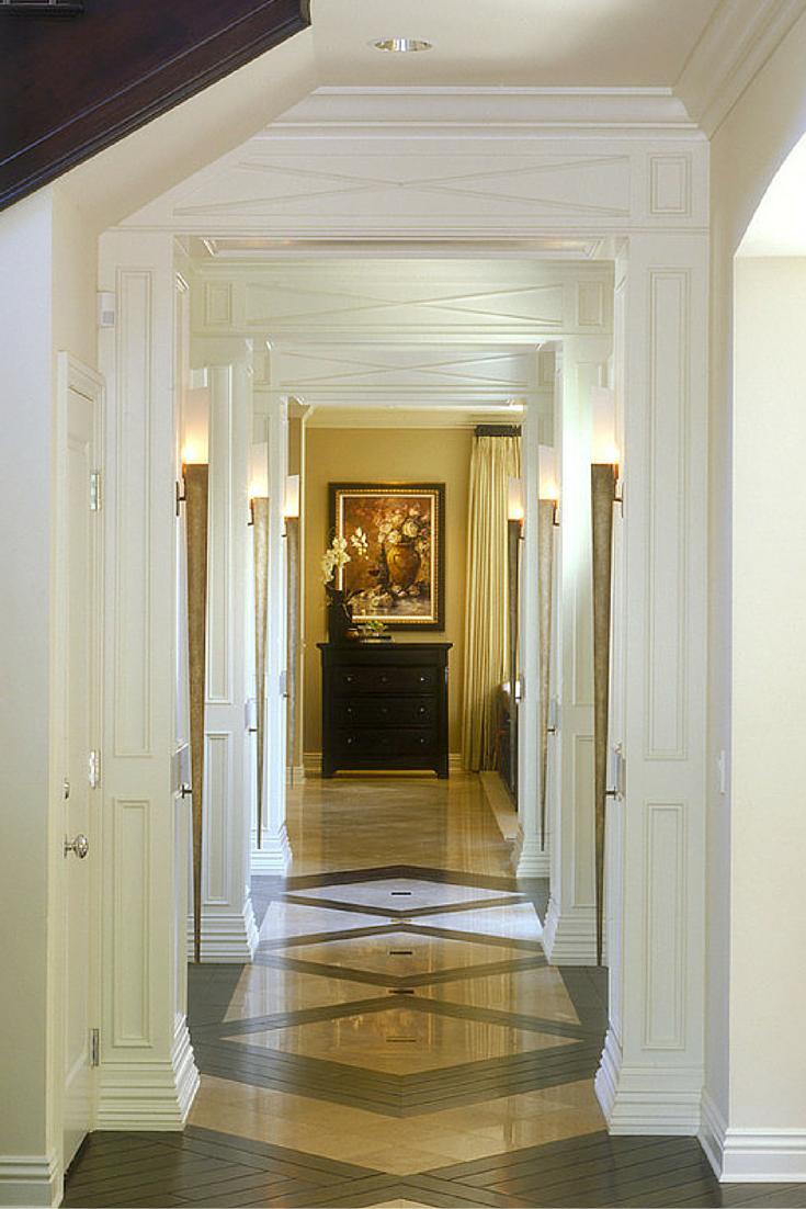 Long hallway decor ideas  Light those long hallways with wall mounted lights Create a sense