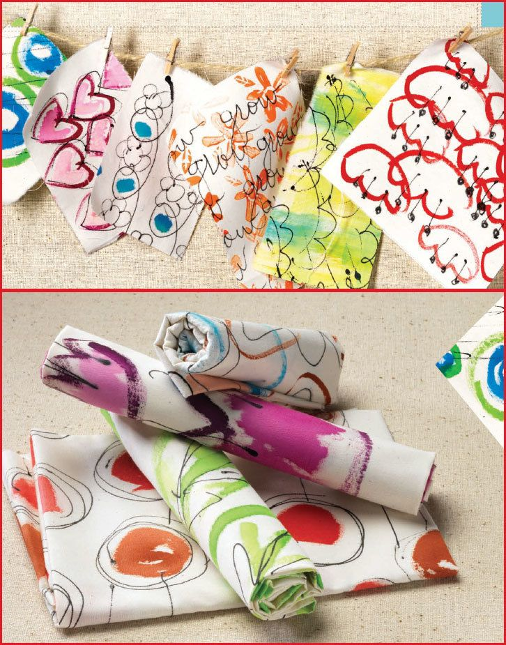 Fabric Painting Tips & Tricks