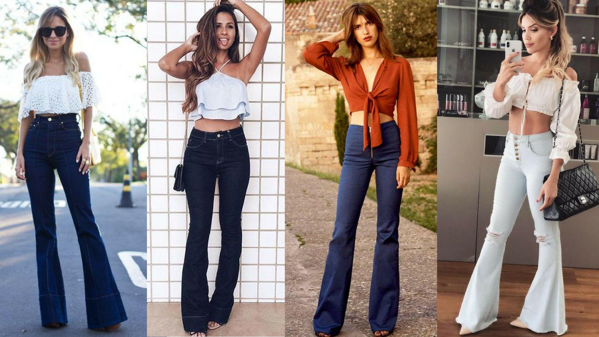 8a8056f35 Como usar calça flare jeans: Dicas essencias para não errar no look ...