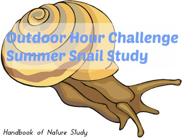 Outdoor Hour Challenge – Snails Invertebrate Study (Handbook of Nature Study)