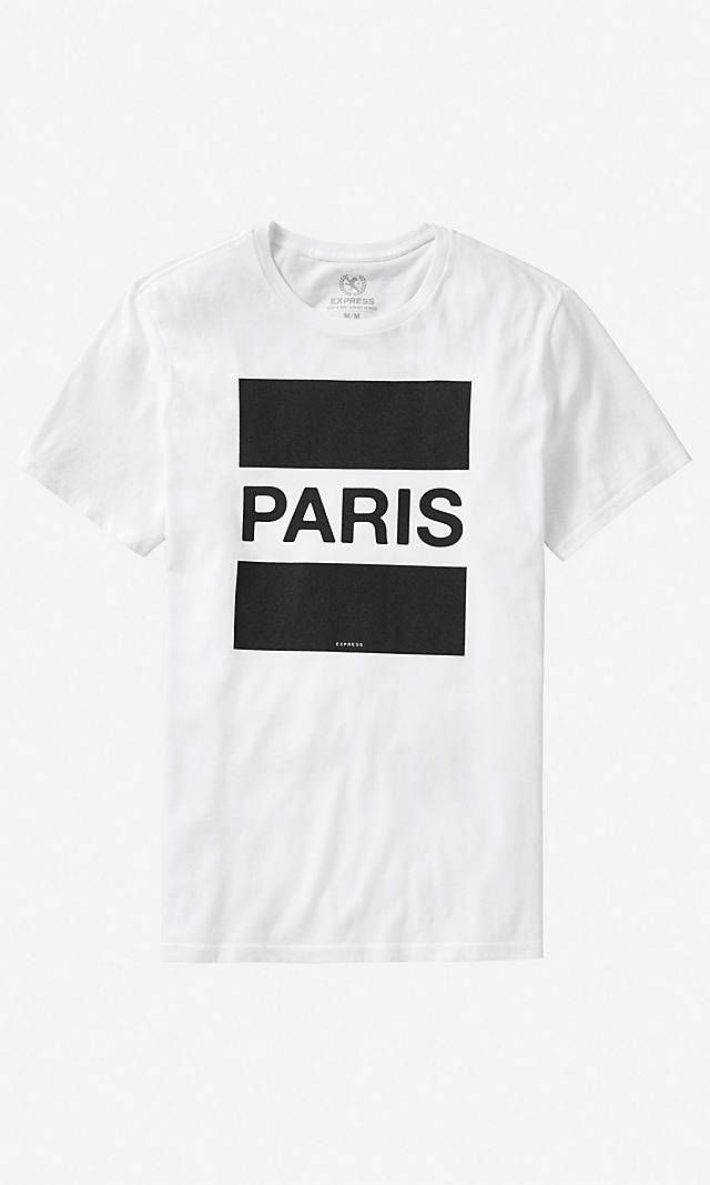 Paris Graphic Tee | Express