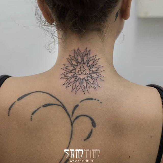 Second Tatouage Avec Sam Pour Laetitia A La Fois Soleil
