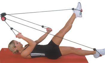 Bally Pilates Door Knob Rope Exerciser  sc 1 st  Pinterest & Bally Pilates Door Knob Rope Exerciser   In the Home   Pinterest ...
