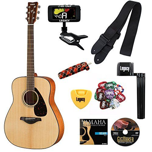 Yamaha Fg800 Acoustic Guitar With Legacy Accessory Bundle Many Choices Learn More By Visi Acoustic Electric Acoustic Electric Guitar Yamaha Acoustic Guitar