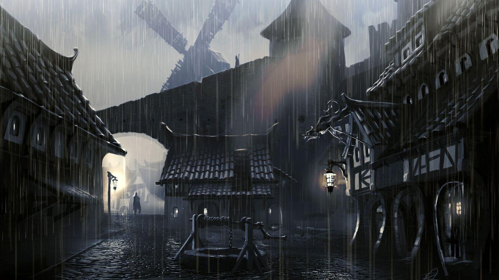 The Elder Scrolls V Skyrim concept art 17 2