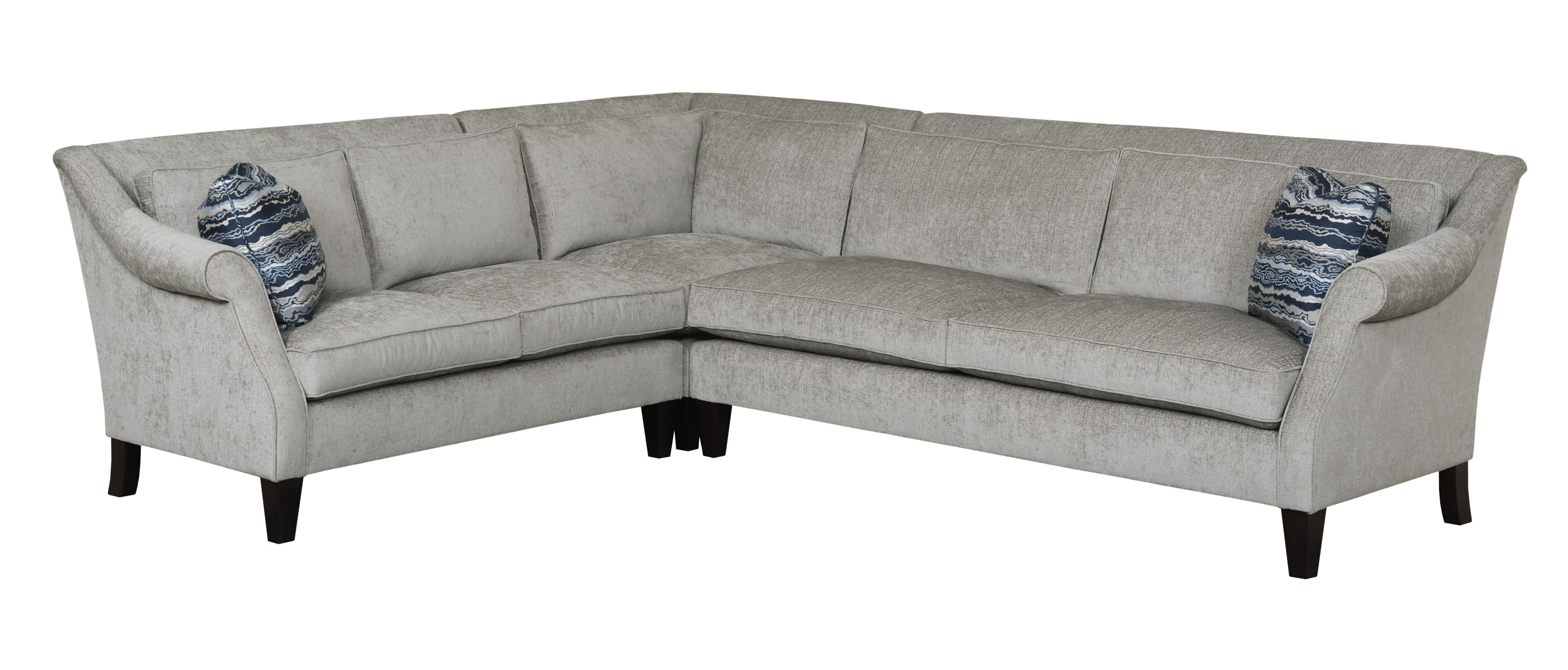 Classic Gray L Shaped Sectional Sofa Design Ideas for Living Room