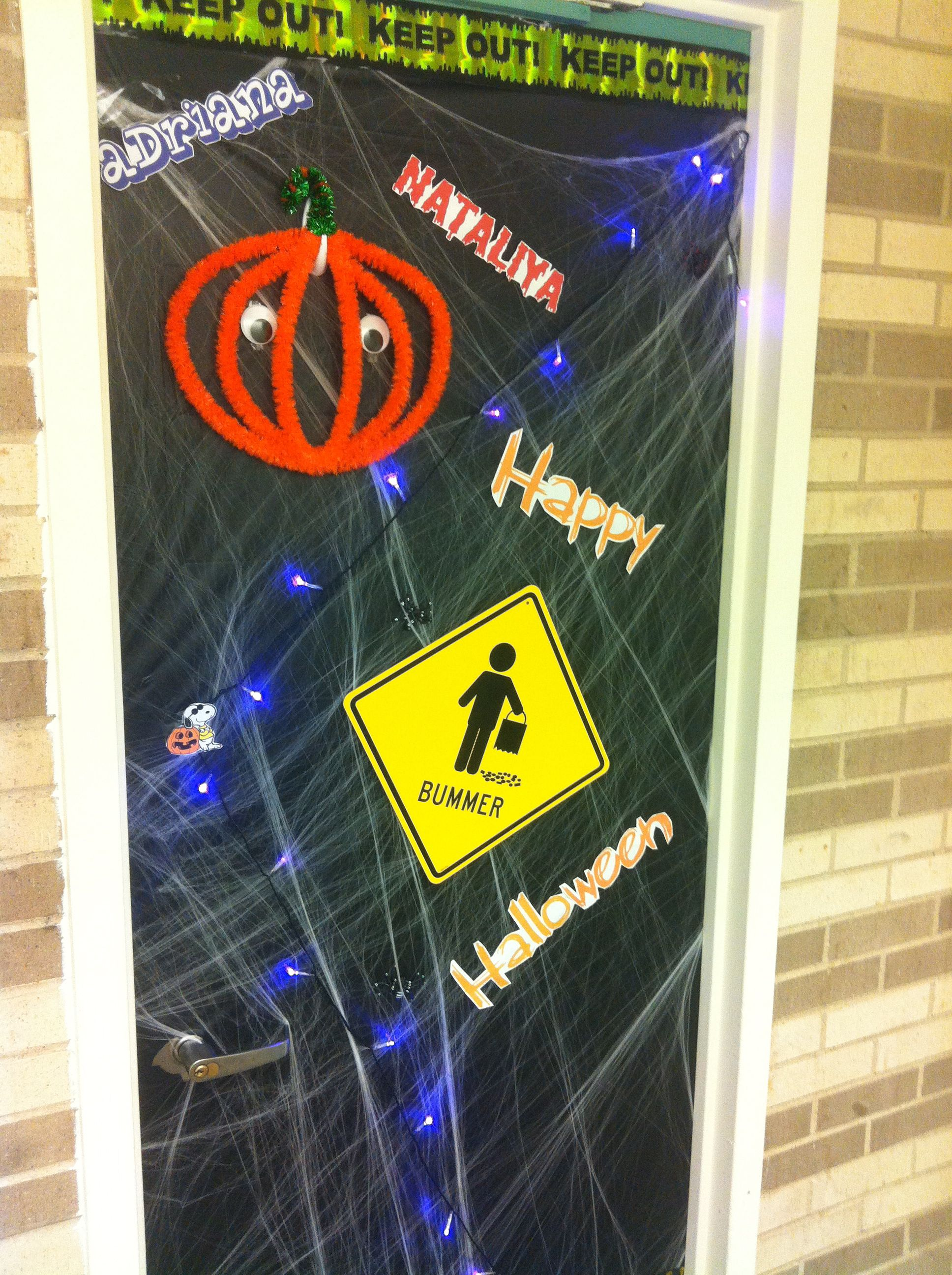 HALLOWEEN DOOR DECORATION Home Ideas Pinterest Halloween door - Halloween Door Decorations