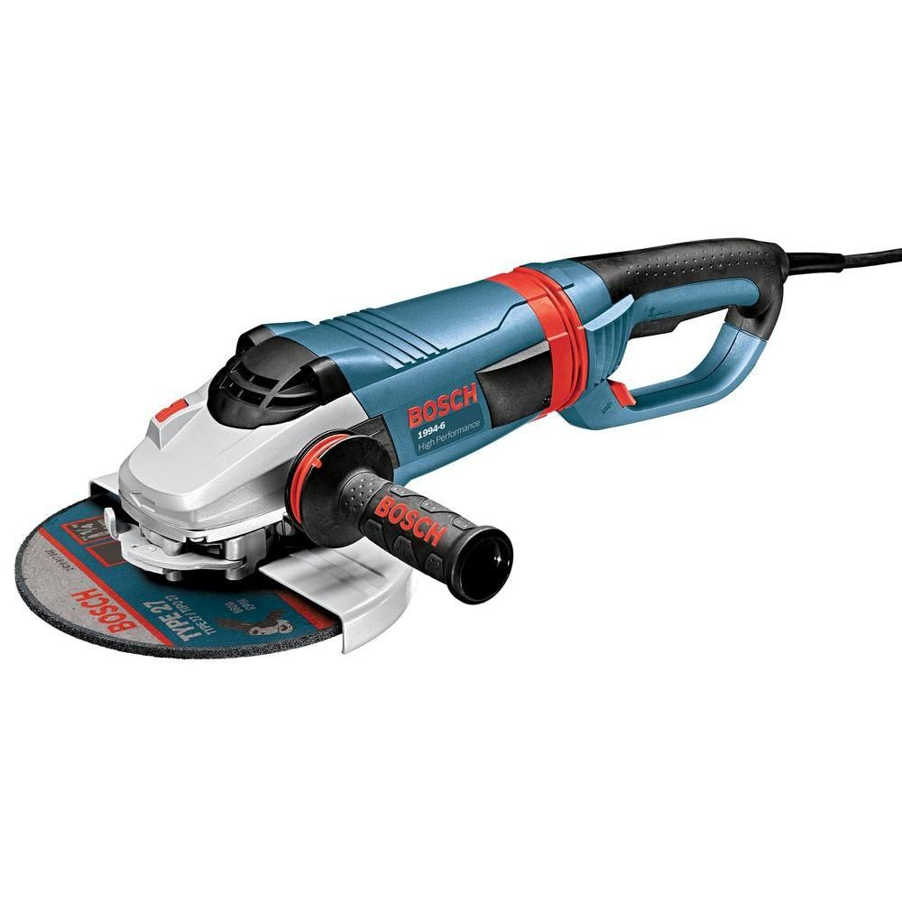 Bosch 15 Amp Corded 9 In Large Angle Grinder 1994 6 Angle Grinder Welding Training Delta Power Tools