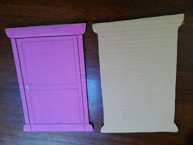 ミニ どこでもドア の作り方 型紙 無料ダウンロード どこでもドア こども 工作 工作