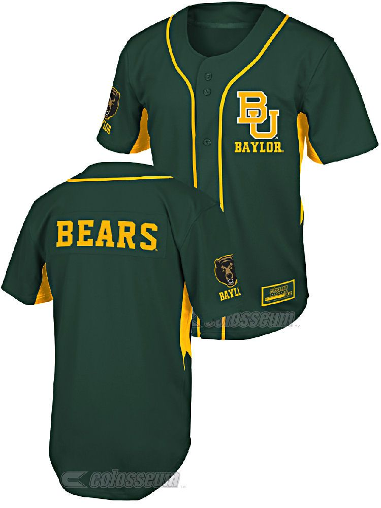 100% authentic e03fa 80da0 Youth Baylor Bears Fielder College Baseball Jersey by ...