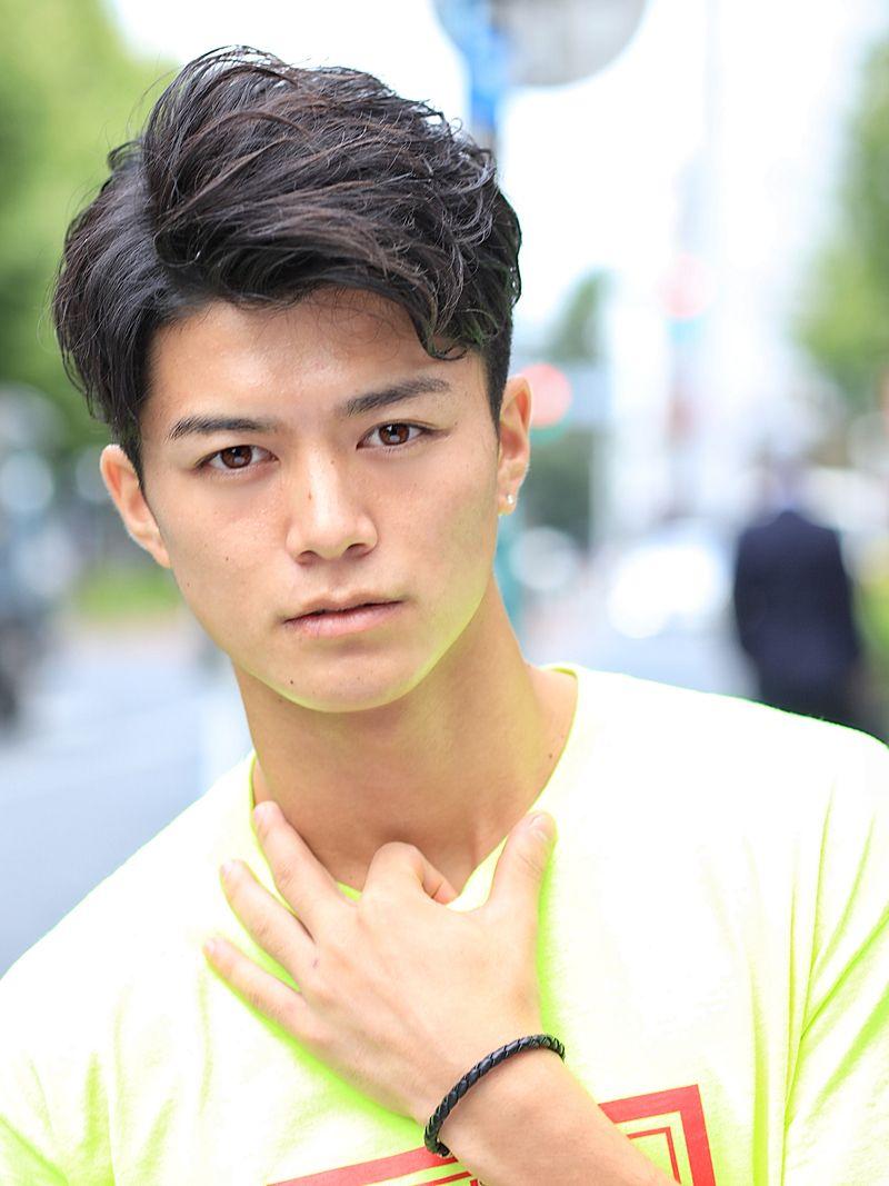 ワイルドブラスト Front メンズ ヘアスタイル アジアの男性のヘアスタイル メンズヘアカット