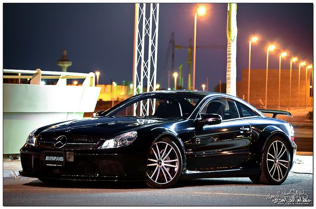 V12 mercedes benz sl65 amg black series ibn mansi auto for Mercedes benz saudi arabia