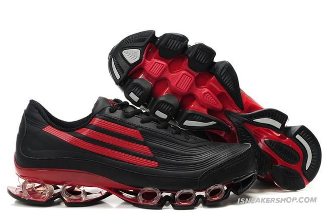 Adidas Titan Bounce Black Red Hypermotion Running Shoes
