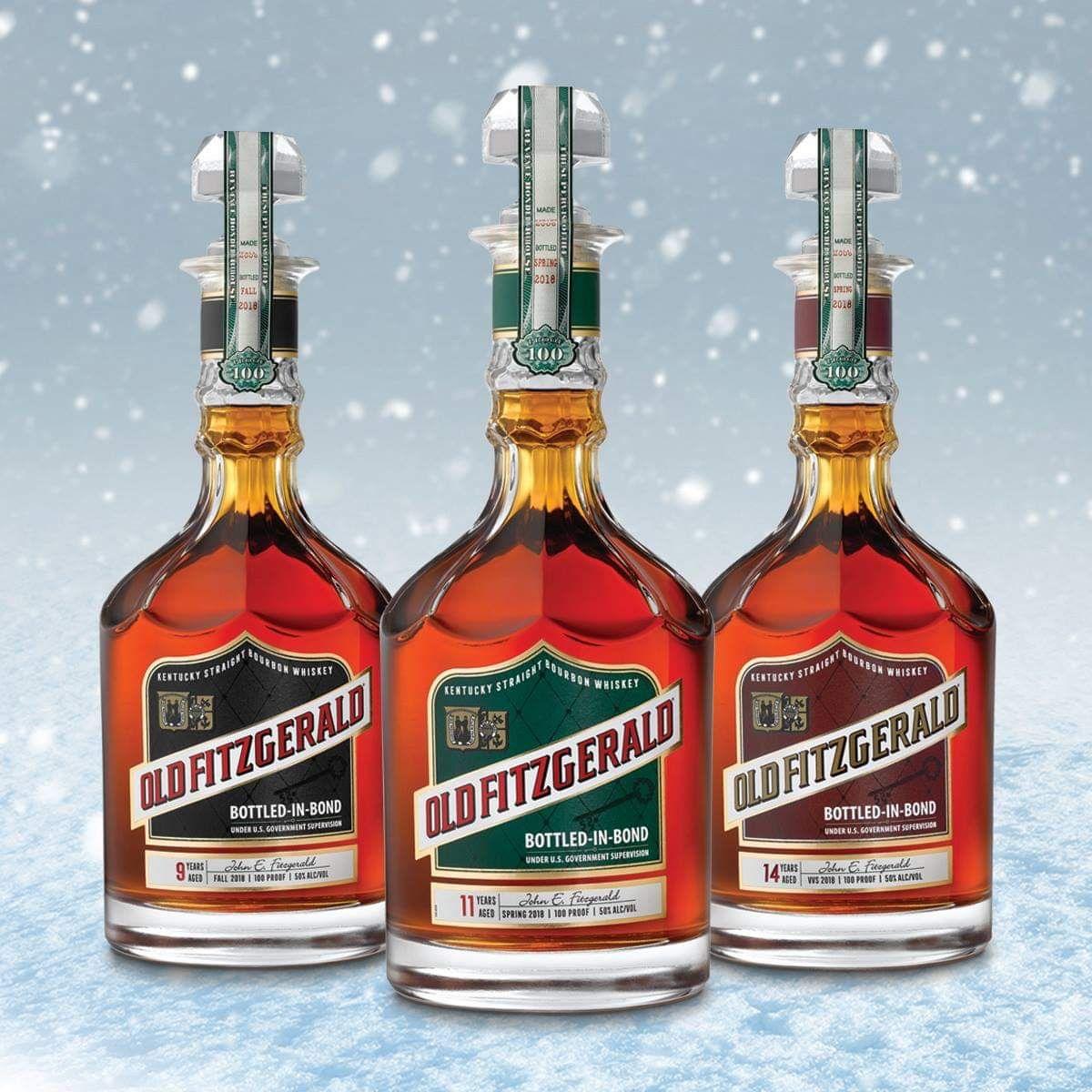 Old Fitzgerald Bottled In Bond Bourbons Bourbon Bottle Bourbon Whiskey