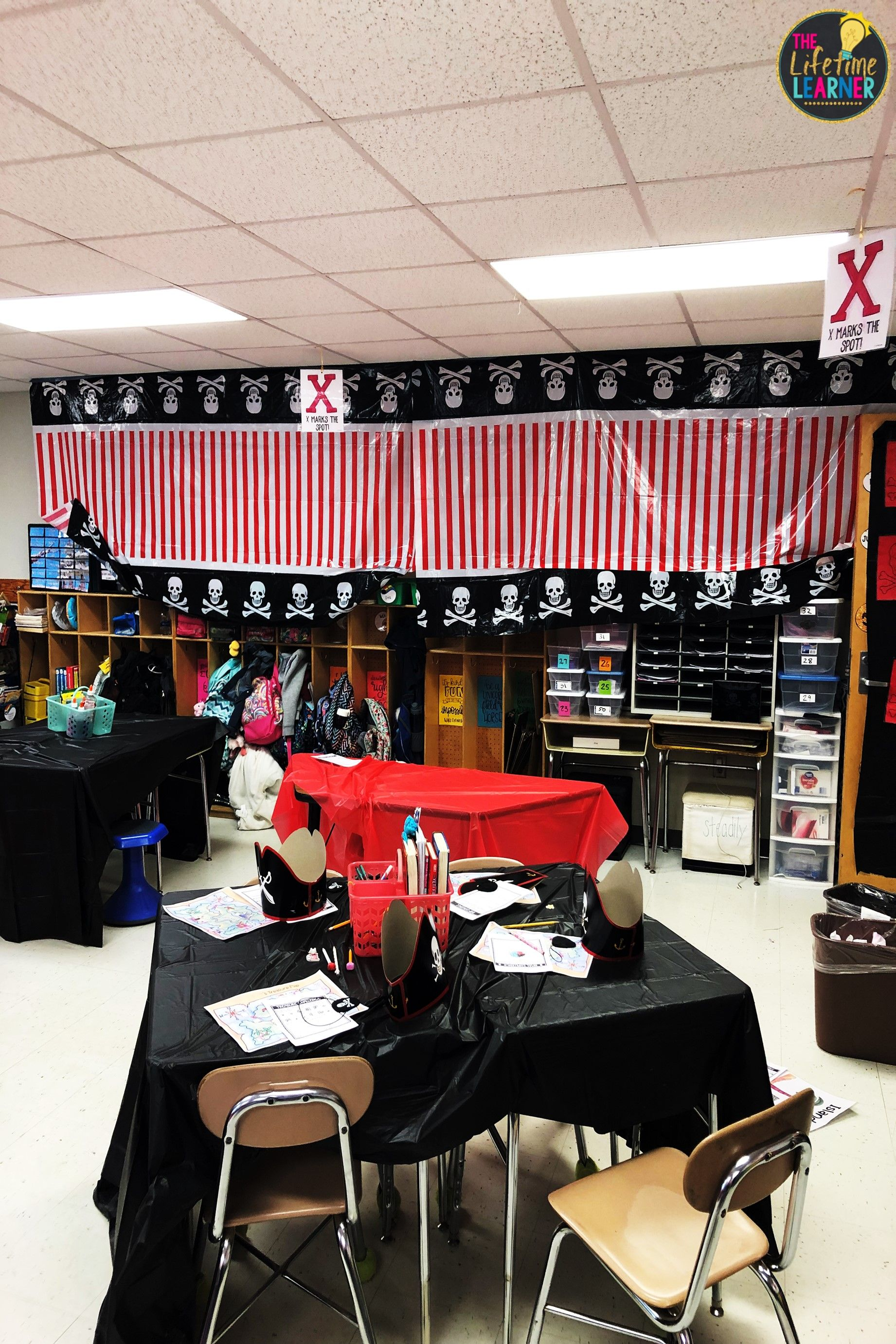 Check Out This Fun Pirate Classroom Transformation For 4th