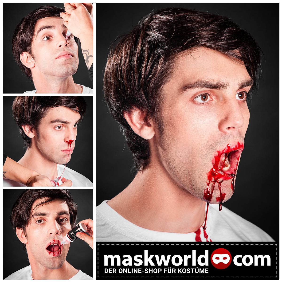 Halloween.de Blut Special #halloween #horror #makeup #mua #blut #kunstblut #blood #fakeblood