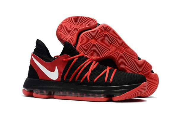 9afe9fe25759e Black Red White Nike KD 10