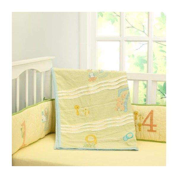 1 2…3…splash! coverlet via Polyvore featuring home, bed & bath, bedding and quilts