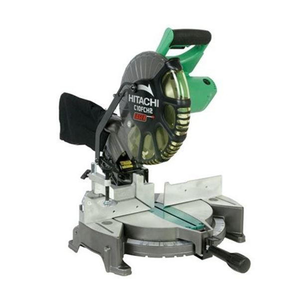 Deal Of The Day Save 37 Off Select Hitachi 10 Inch Miter Saw For 8 23 2017 Only The Hitachi C10fch2 10 Inch Miter Saw Compound Mitre Saw Hitachi Miter Saw