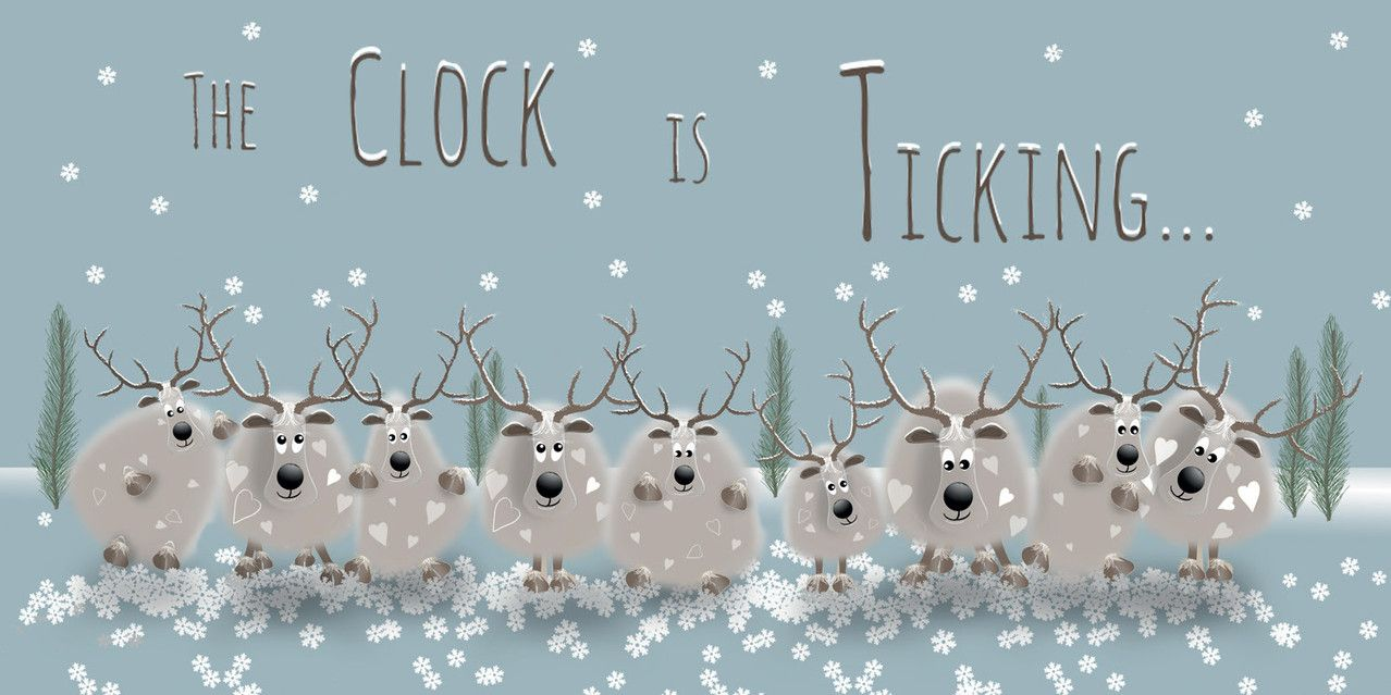 The O'Dears are getting ready for Christmas - are you organised? Have you bought your Christmas cards yet? Why not choose the O'Dears collection - you can buy any 8 cards for £10 with free delivery! #christmas #cards #animals #quirky #illustration