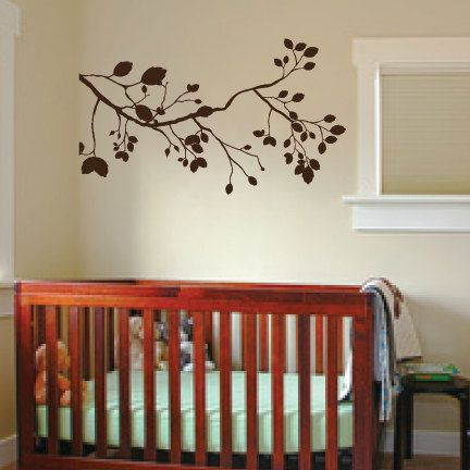 Classic Tree Branch Vinyl Decal. $19.99, via Etsy.