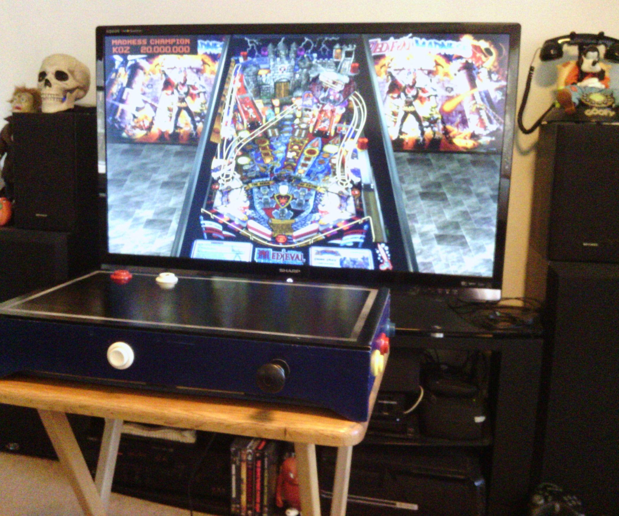Desktop Pinball Controller | Game Room | Pinball, Arcade