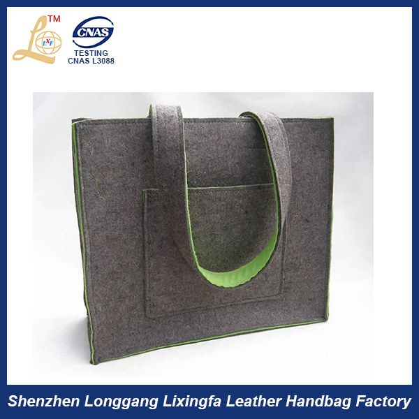 a2564a216e76 High Quality Ladies New Design Wool Felt Tote Bag