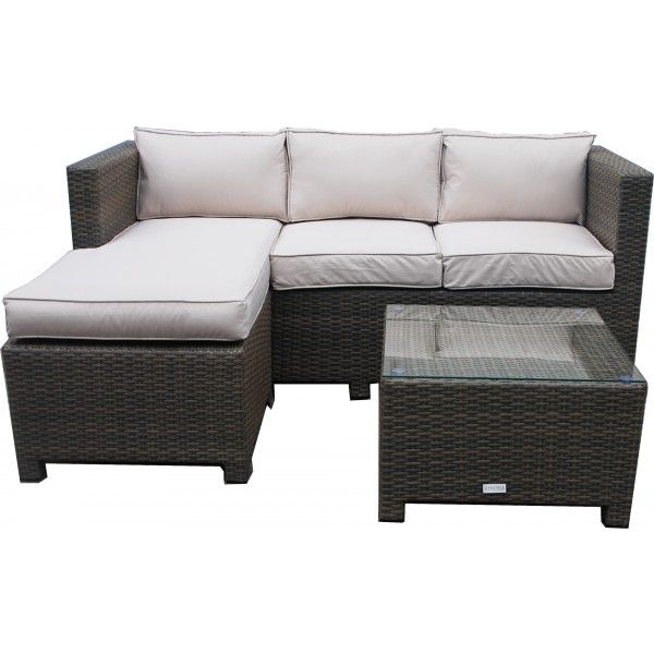 Auckland Chaise Lounge Sofa Set Jtf Garden Furniture